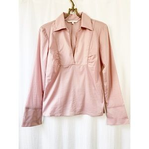 Guess Collection pink collared blouse